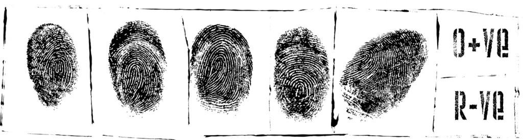Revisionsverfahren - Fingerabdrücke - Polizeiakte