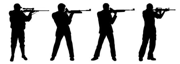 Männer mit Gewehr - Revision Strafrecht