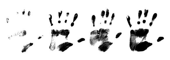 Handabdrücke - Beweismittel in Revisionsverfahren