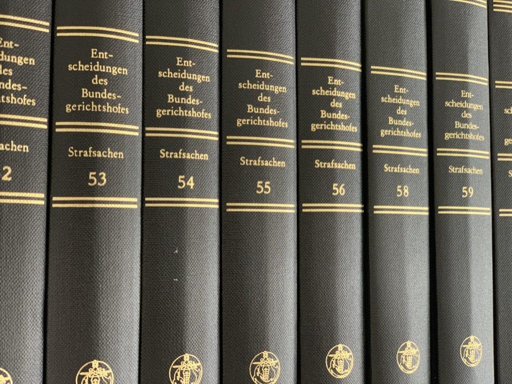 BGH Entscheidungen Revision Strafrecht